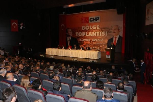 Altınok Öz CHP Bölge Toplantısı'na Katıldı