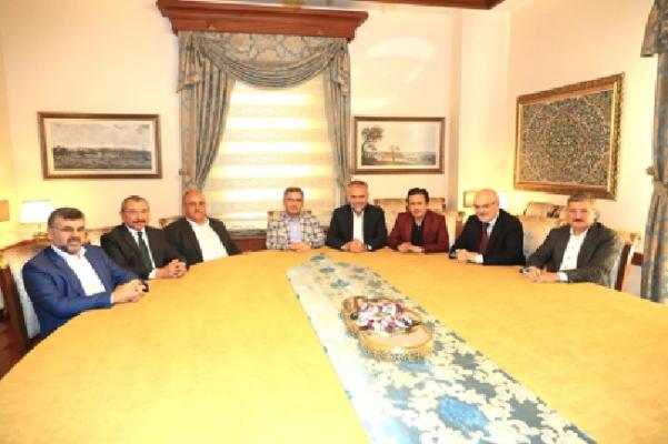 Anadolu Yakası Belediye Başkanları Toplantısı yapıldı