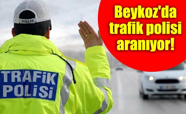 Beykoz'da trafik polisi aranıyor!