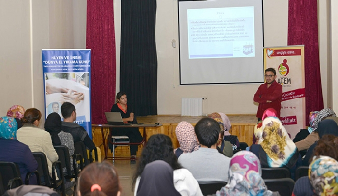 Dünya El Yıkama Günü'nde hijyen ve önemi semineri