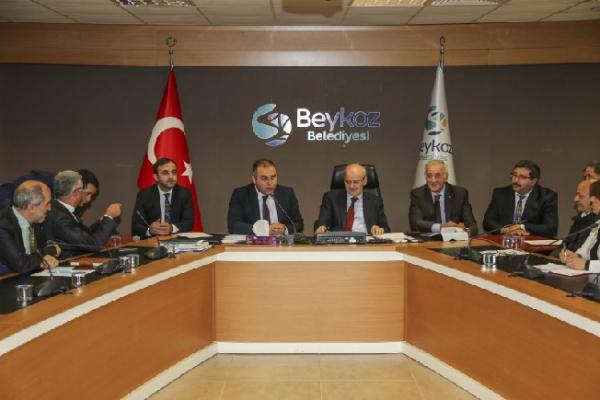 Görele Belediye Başkanı'ndan Beykoz'a teşekkür ziyareti
