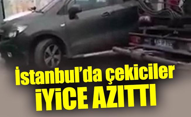 İstanbul'da çekiciler iyice azıttı