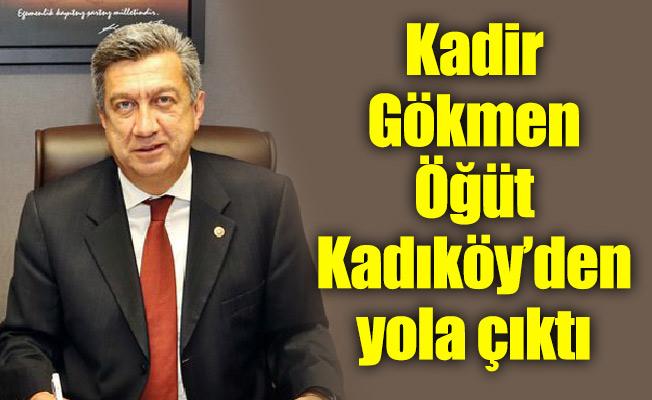 Kadir Gökmen Öğüt Kadıköy'den yola çıktı