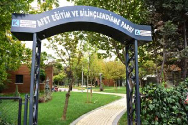 Türkiye'nin ilk Afet Eğitim Parkı Kadıköy'de