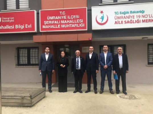 Ümraniye Belediyesi, muhtarlıklarla istişarelerine devam ediyor