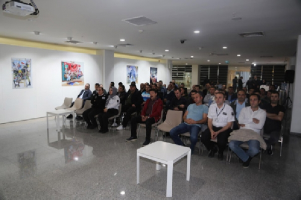 Ümraniye Belediyesi Özel Güvenlik Personeline hizmet içi eğitim verdi