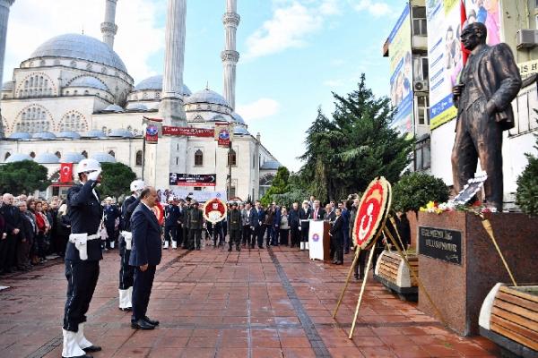 Atatürk vefatının 80. Yılında Maltepe'de törenle anıldı