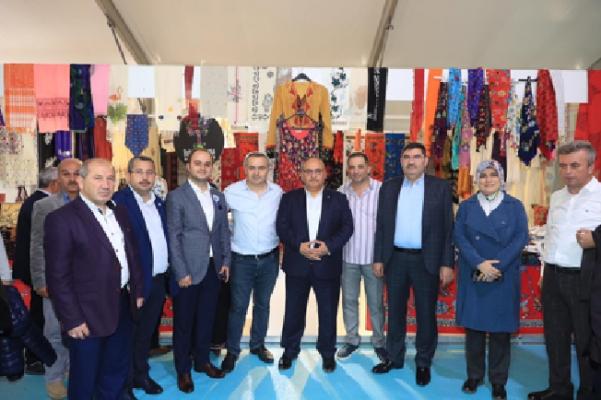 Başkan Hasan Can Sinop Tanıtım Günlerine katıldı
