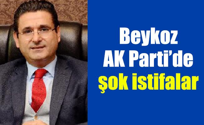 Beykoz AK Parti'de şok istifalar