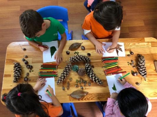 Kartallı Minikler Doğanın Zenginliğini Sanatlarına Yansıttı