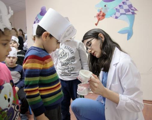 Kartallı Miniklere Ağız ve Diş Sağlığı Eğitimi Verildi