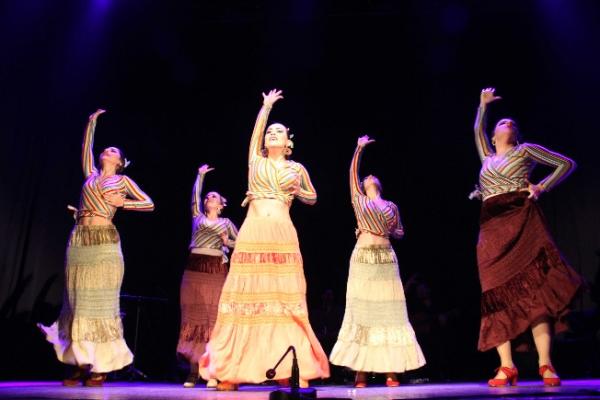 Kartallılardan Labranza Flamenko Dans Gösterisine Yoğun İlgi