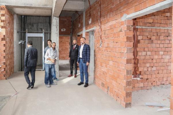 Mimar Sinan Aile Sağlığı Merkezi Çalışmaları Devam Ediyor