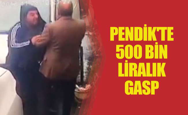 PENDİK'TE 500 BİN LİRALIK GASP