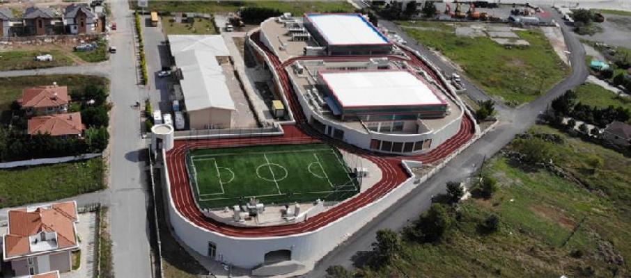 Şile'de İBB tarafından 2 bin kişilik spor kompleksi yapıldı
