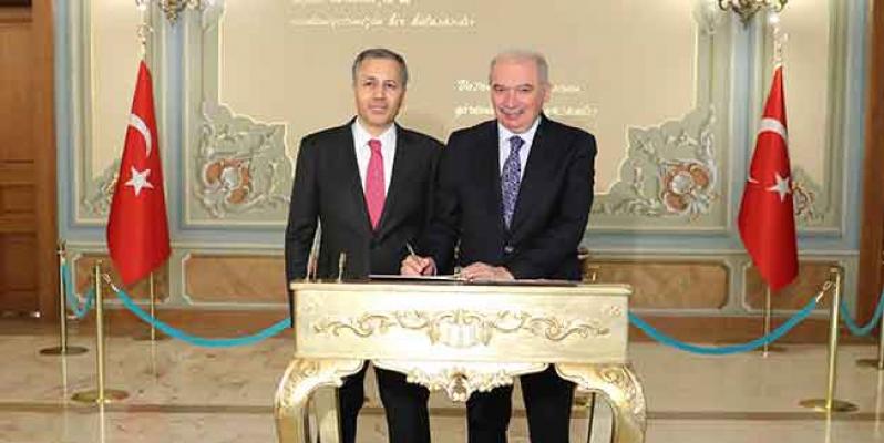 Vali Yerlikaya'dan Başkan Uysal'a ziyaret