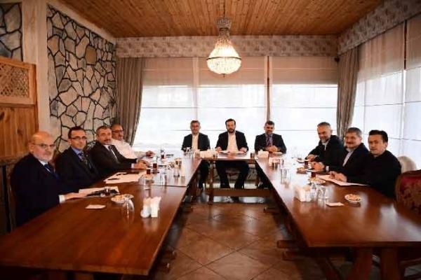 Başkanlar Sultanbeyli'de buluştu