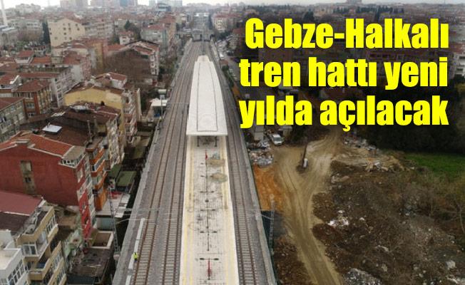 Gebze-Halkalı tren hattı yeni yılda açılacak