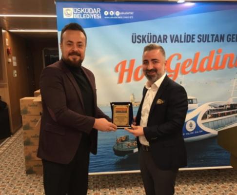 Hasan Can'a Belediyecilik alanında üstün başarı ödülü