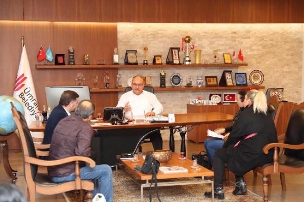 Hayvan Severler Derneği'nden Başkan Hasan Can'a ziyaret
