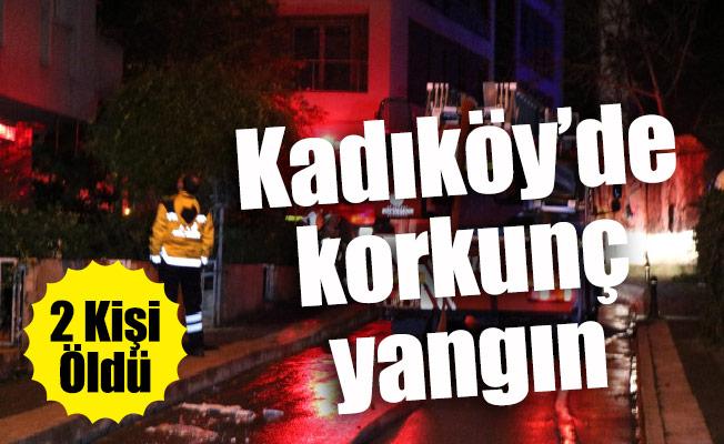 Kadıköy'de korkunç yangın