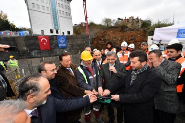 Oğuzhan Camii Temel Atma Töreni Gerçekleştirildi