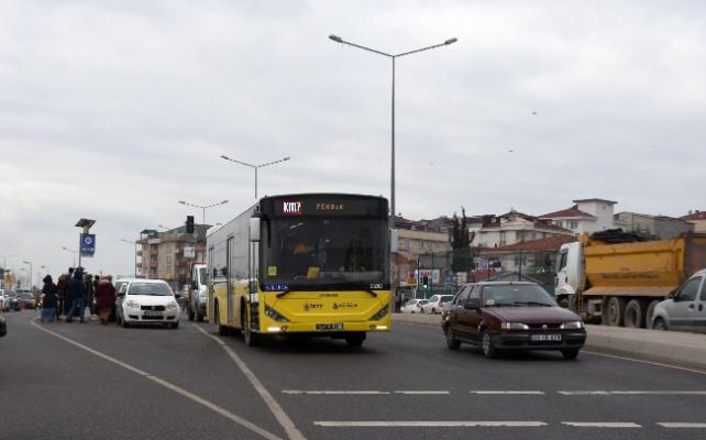 Pendik'te ek otobüsler konuldu