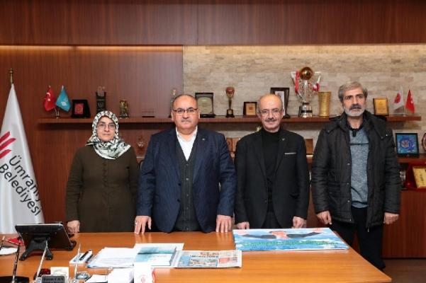 TOGEM-DER Özel Eğitim Meslek Okulundan Başkan Hasan Can'a ziyaret