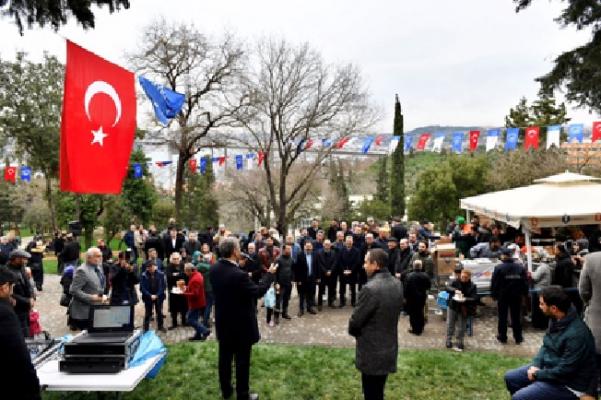 Türkmen Nakkaştepe Millet Bahçesi'nde Vatandaşlarla Buluştu