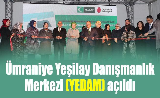 Ümraniye Yeşilay Danışmanlık Merkezi (YEDAM) açıldı