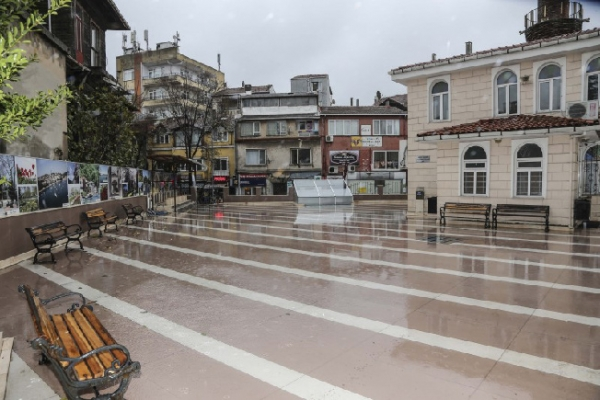 Yalıköy ve Çubuklu Camii'ne çevre düzenlemesi