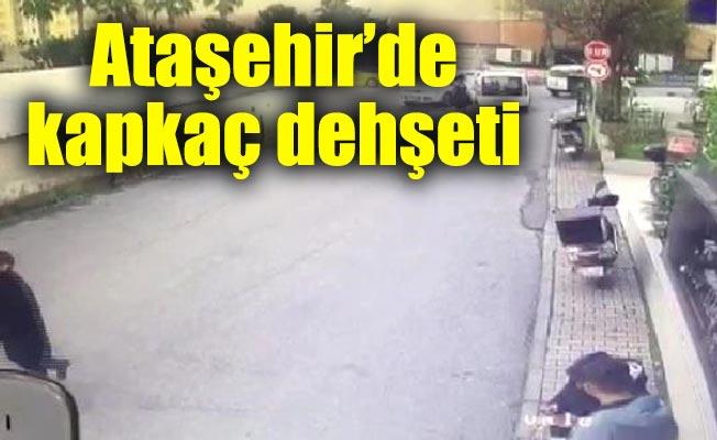 Ataşehir'de kapkaç dehşeti