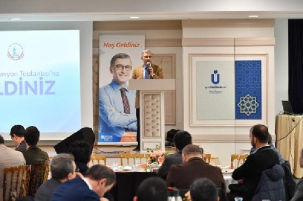 Başkan Türkmen Okul Müdürleri İle Buluştu
