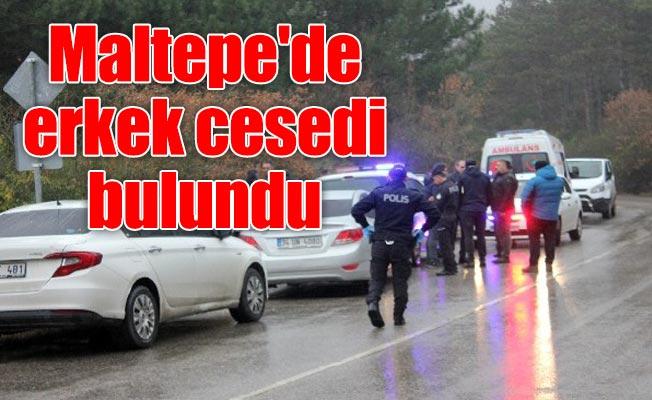 Maltepe'de erkek cesedi bulundu