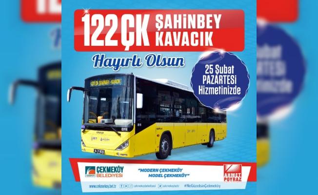 22 ÇK Şahinbey- Kavacık hattı açıldı