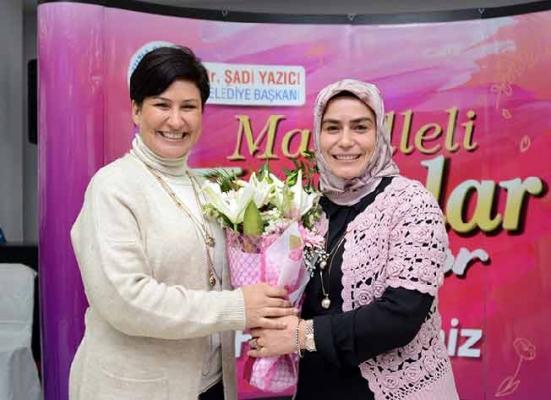 İclal Aydın, Tuzla'da mahalleli kadınlar ile buluşuyor