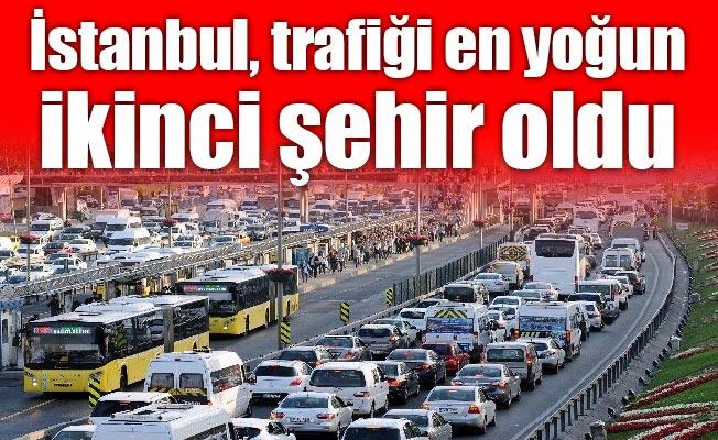 İstanbul, trafiği en yoğun ikinci şehir oldu