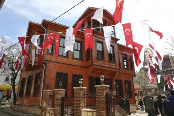 """Mehmet Akif Ersoy Şiir Müzesi'nde """"Edebiyat Okumaları"""" Başladı"""