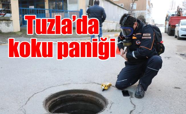 Tuzla'da koku paniği