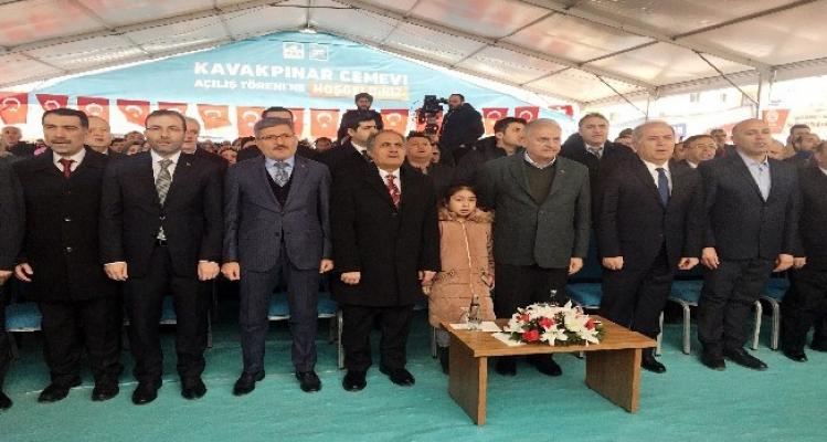 Binali Yıldırım, Kavakpınar Cemevi'nin açılışını yaptı