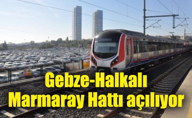 Gebze-Halkalı Marmaray Hattı açılıyor...