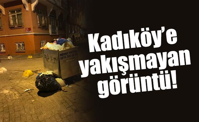 Kadıköy'e yakışmayan görüntü!
