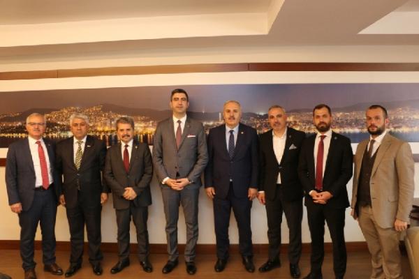 İYİ Partili Milletvekillerinden Başkan Gökhan Yüksel'e Tebrik Ziyareti