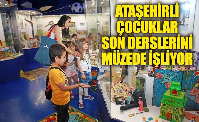 Ataşehirli Çocuklar Son Derslerini Müzede İşliyor