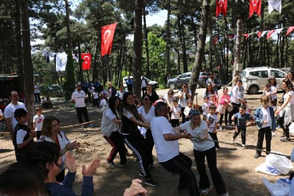 Kartallı Minik Maceracılar, Orman Şenliğinde Doyasıya Eğlendi