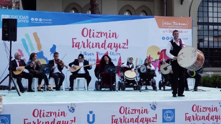 Üsküdar Belediyesi Engelsiz Müzik Korosu'ndan Çoşkulu Konser