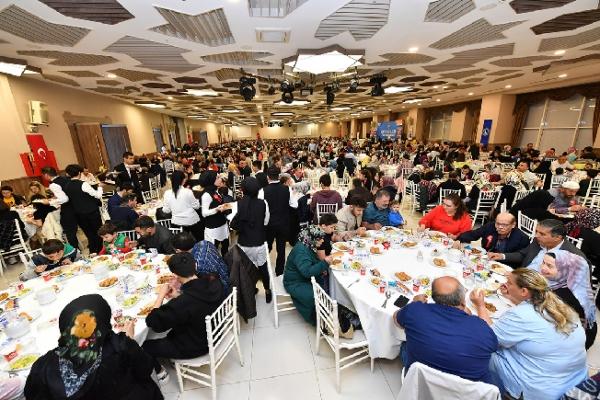 Üsküdar Belediyesi Şehit Aileleri ve Gazilere İftar Programı Düzenledi