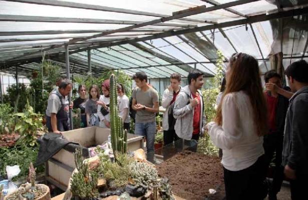 Doğa Dostu Öğrenciler, Kartal Belediyesi Serasını Ziyaret Etti