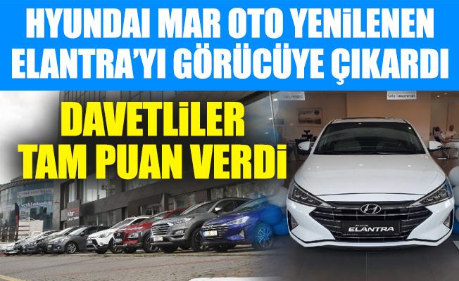 Hyundai Mar Oto Yenilenen Elantra'yı Görücüye Çıkardı