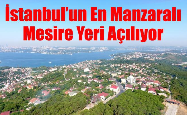 İstanbul'un En Manzaralı Mesire Yeri Açılıyor